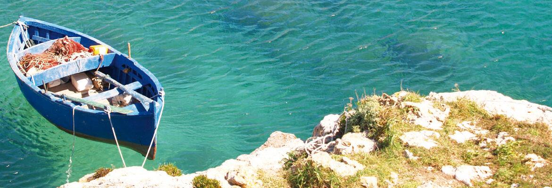 tra acque trasparenti