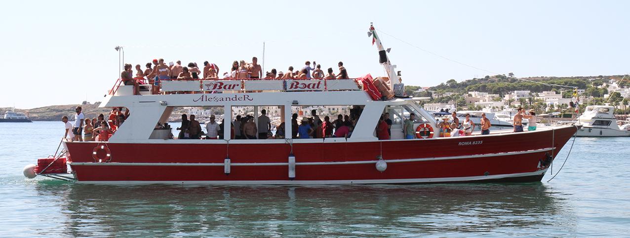 escursioni in barca salento, torre pali santa maria di leuca